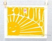 Haitian Affirmation, #HaitianAffirmation, Bonjou, Hello, Haitian Creole, Wall Art, Adoption Gift, Nursery Print, Haiti Adoption, Haiti
