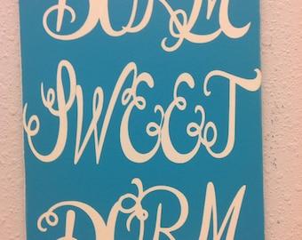 Dorm Decor, college dorm, graduation, primitive sign