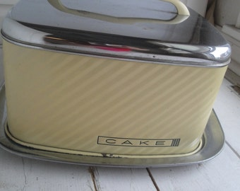 1950s Yellow Cake Saver BeautyWare Lincoln