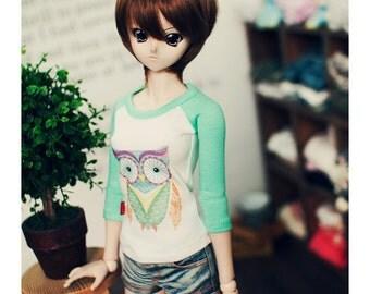 DD Owl Tshirt Mint
