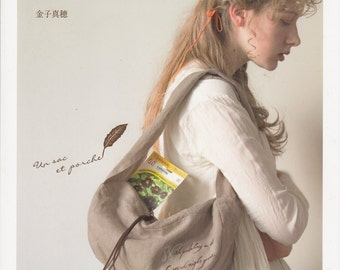 Bags and Pouches in European Style - Japanese craft book