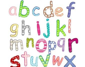 ON SALE letter clip art - alphabet  A-Z  Digital clip art, instant download, alphabet , a-z