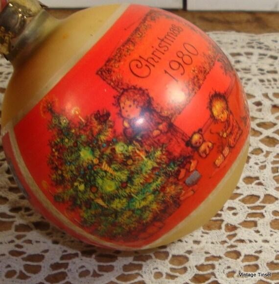 Vintage Hallmark Christmas Ornament Christmas Charmer 1980