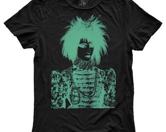Queen Sioux, 100 Percent Cotton T-shirt, Vintage Black, unisex