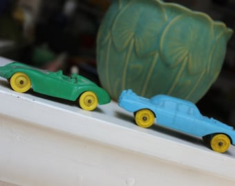 2 Auburn Rubber Co. Cars Race VINTAGE by Plantdreaming