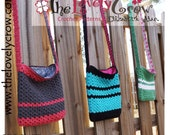Crochet Bag Pattern MY DAUGHTER'S PURSE by The Lovely Crow