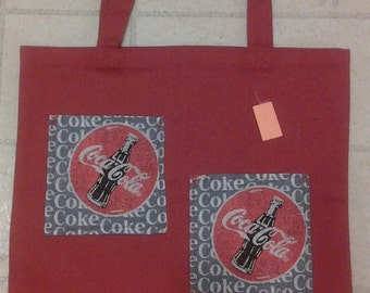 Canvas Bag with Coke pockets 231215