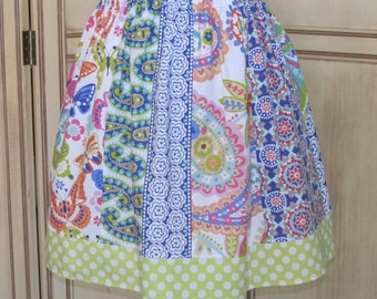 Garden Party Skirt in Girls Size 8 - Ready to Ship!