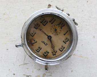 vintage french jaz clock