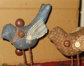 Primitive Birds Made by order set of two