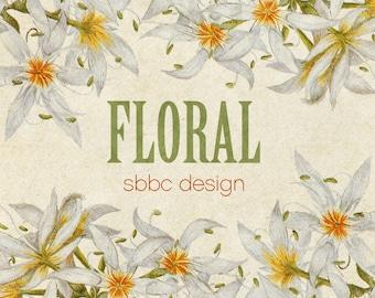 OOAK Etsy Banner Vintage Floral Premade 9 graphics