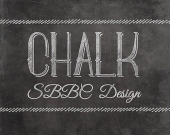 Chalkboard Shop Banner Starter Pack Retro