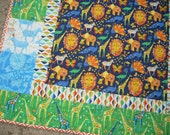 origami oasis baby quilt - FREE SHIPPING