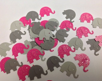 Paper Elephant Confetti 65 pc New Baby   Baby Shower   Birthday Party