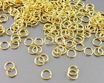 10 grams Jump rings jumprings for crafts, 4mm 24 gauge thin open jump rings B005BBG-244