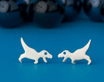Tyrannosaurus Studs Dinosaur Earrings T Rex Earrings Sterling Silver Teen Kids Jewelry Dino Jewelry jurassic park gift