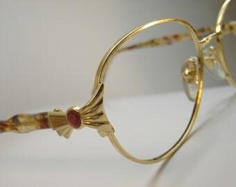 Vintage 70s  Big Lens Eyeglasses Eyewear Frames NOS Frame France
