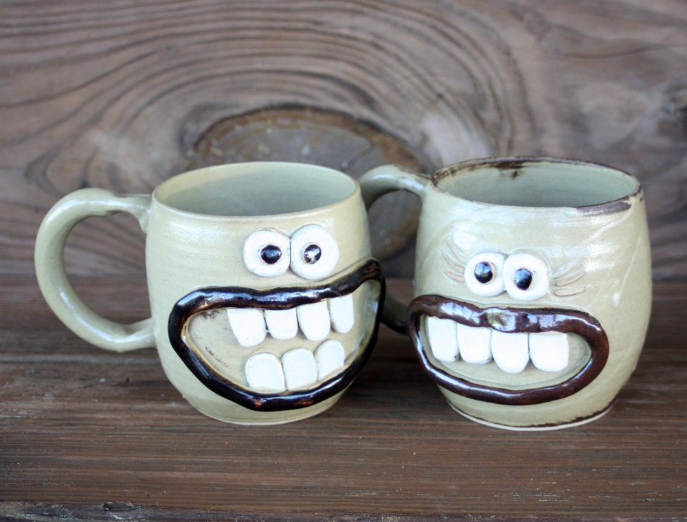coffee cup couple his and hers coffee mugs hot by. Black Bedroom Furniture Sets. Home Design Ideas