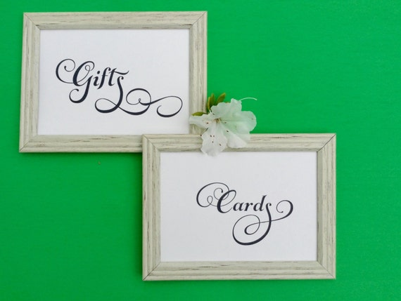 Printable Wedding, SIgn, Cards & Gifts