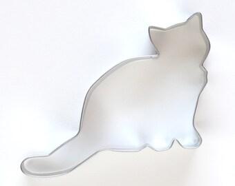 Cat Cookie Cutter, Kitten Cookie Cutter, Animal Cookie Cutter
