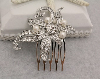 Wedding Hair Accessories Bridal Hair Jewelry Wedding Hair Combs Bridal Accessories Wedding Headpieces Bridal Hair Combs 1920's Wedding Combs