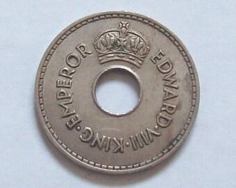 King Edward VIII Coin 1936 Fiji