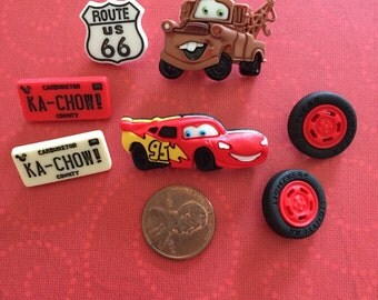 Cars! Cars! Button Embellishments