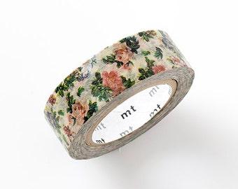 MT ex 2015 S/S NEW- Japanese Washi Masking Tape - Botanical Art