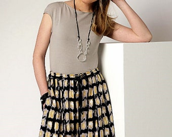 Culottes Pattern, Wide Leg Crops Pattern, Wide Leg Shorts Pattern, Butterick Sewing Pattern 6223