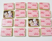 Pink Princess Birthday Gift/Memory Game-Girl First Birhtday/Toddler Gift by burlap and blue