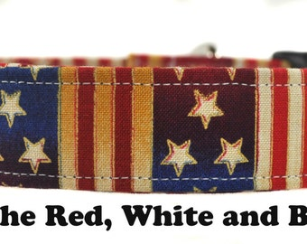 Dog Collar - The Red, White and Blue
