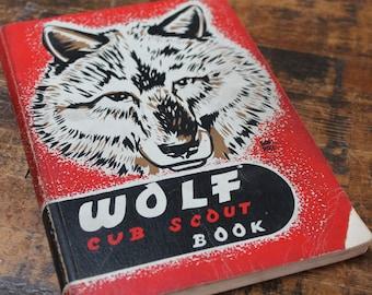 Vintage Cub Scouts Manual Wolf Scout manual 1948 vintage cub scouts boy scouts ephemera paper ephemera vintage memorabilia Americana Book