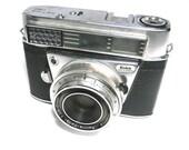 Vintage Kodak Retina IBS Camera Made in Germany 1962-63 DLC Film Camera Old Black Photography Display Photo Prop Fixup Camera w/Partial Case
