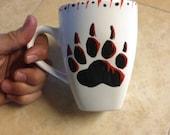 Cherokee Bear coffee mug native american