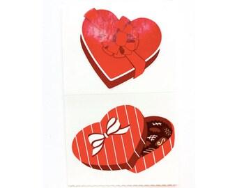 valentine chocolates stickers - MRS GROSSMAN sticker