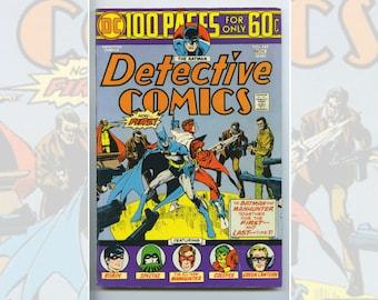 DC Batman's Detective Comics #443 Nov 1974
