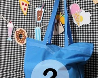 Food Fun Mix Mystery Bag Lucky Dip Tote Bag - Choose A Size FUKUBUKURO