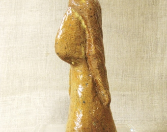 Female Ceramic Bust, Portrait, Female Figure, Studio Pottery, Figurative, Handmade, Sculpture, Modern Art, Minimalism, Contemporary