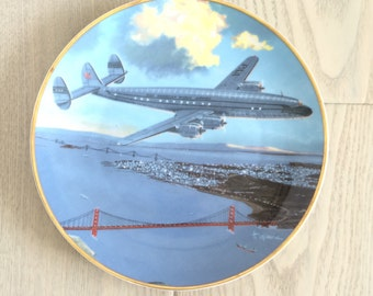 Pan Am Airline Plate