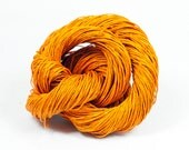 Paper Yarn - Paper Twine: Orange - 131 yards (120m) - Knit, crochet, textile arts, DIY supply