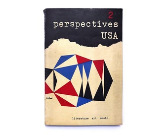 Alvin Lustig & Leo Lionni magazine design. Perspectives U.S.A. (Issue 2, Winter 1953) published by James Laughlin