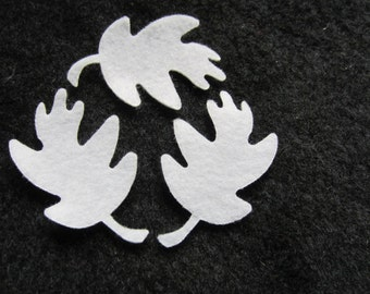 Felt Oak Leaf for Wax Dipping. DIY Kits for Independent Counsultants- Parties- Accessories Decorations-Costume Embellishments
