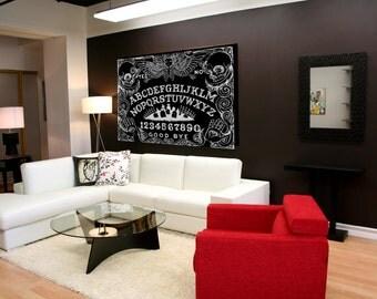 Ouija board loose canvas print