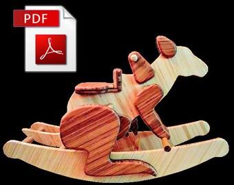 Rocking Kangaroo DIY Woodworking Plans (Digital Download)