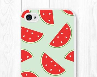 Mint iPhone 6 Case Watermelon Mint iPhone 5 Case Watermelon iPhone 5s Case Watermelon Phone Case Mint iPhone 5s Case Watermelon iPhone Case