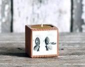 Botanical Candleblock: No. 6, Cobblestone Fig. 3 & 4 - by Peg and Awl