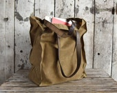 The Marlowe Carryall: Tumbleweed by Peg and Awl