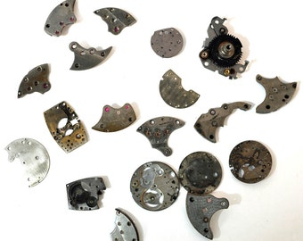 19 watch frame parts lot