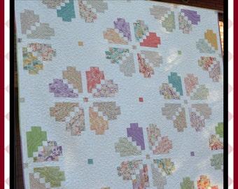 Petal Pop - PDF Quilt Pattern with 5 size options