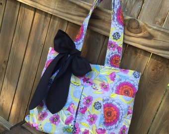 The Rae Tote- Fabric Tote/Handbag/Hobo/Purse - over 200 fabric choices